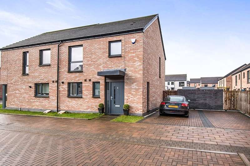 2 Bedrooms Semi Detached House for sale in Getter Grove, Twechar,Kilsyth, Glasgow, G65