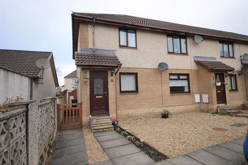 2 Bedrooms Flat for sale in Young Place, Newmains