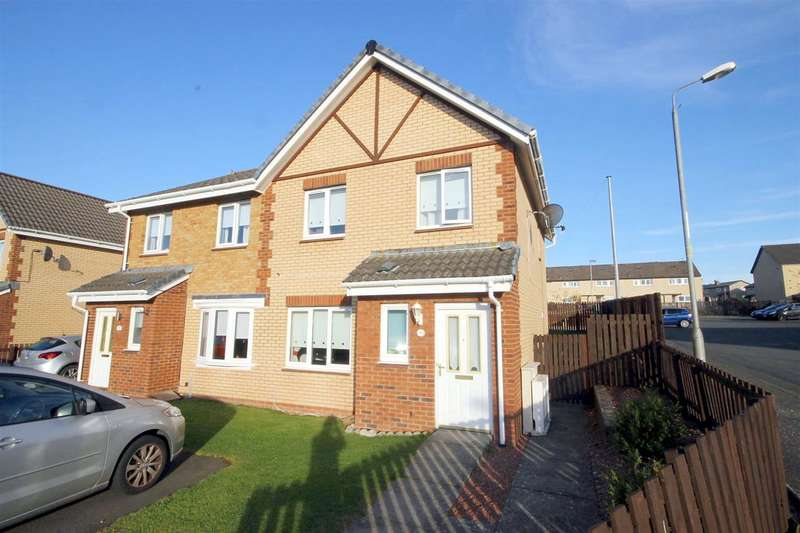 3 Bedrooms Semi Detached House for sale in Horatius Street, Motherwell