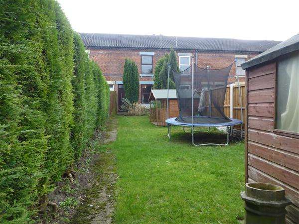 2 Bedrooms Terraced House for sale in Wales Road, Kiveton Park, Sheffield