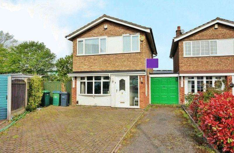 3 Bedrooms Link Detached House for sale in Shelton Close, Wednesbury