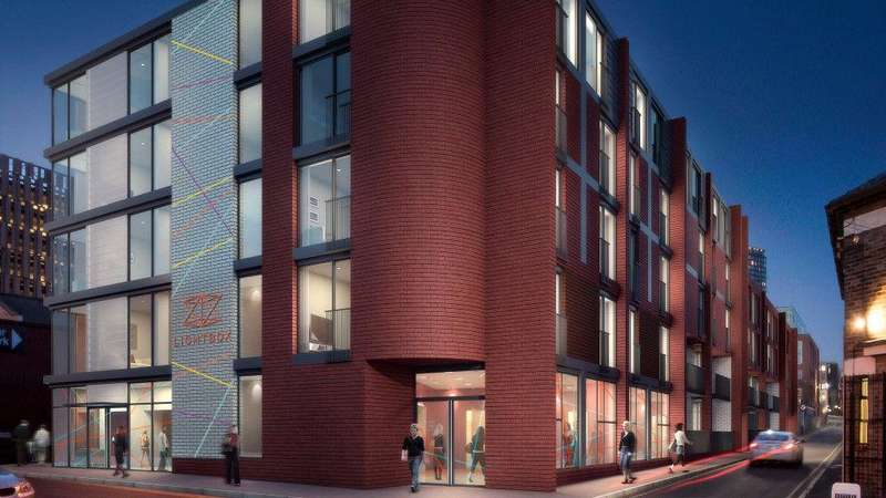 Studio Flat for sale in Investment Opportunity-Hallam Lane, Sheffield S1