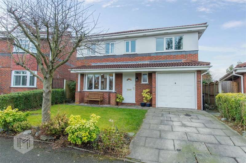 5 Bedrooms Detached House for sale in Helmclough Way, Worsley, Manchester