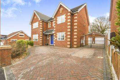 4 Bedrooms Detached House for sale in Marian Drive, Rainhill, Prescot, Merseyside, L35