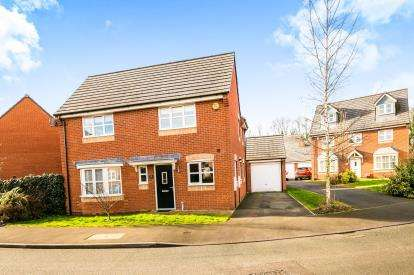4 Bedrooms Detached House for sale in Whitehead Drive, Wrexham, Wrecsam, LL11