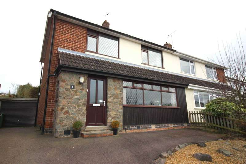 3 Bedrooms Semi Detached House for sale in Whitesand Close, Glenfield