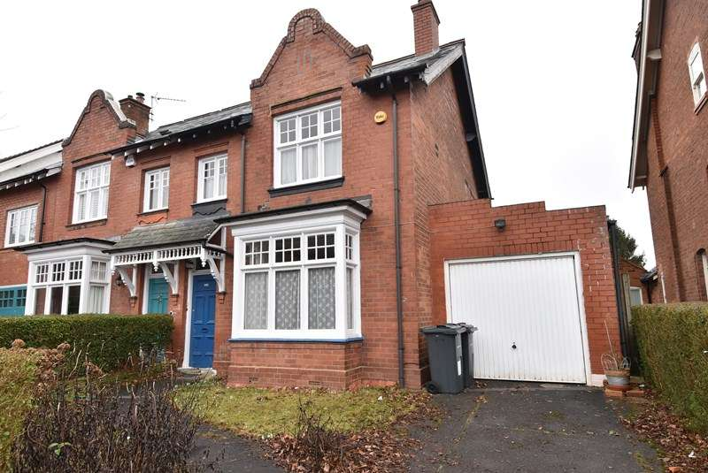 4 Bedrooms Semi Detached House for sale in Mary Vale Road, Bournville, Birmingham