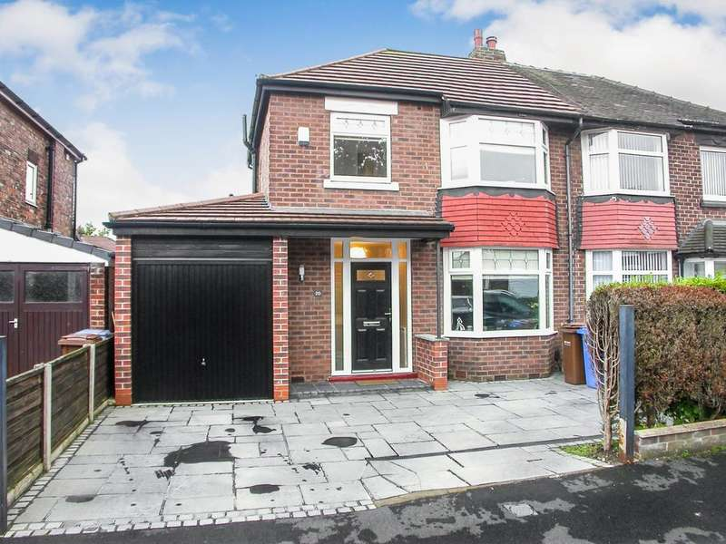 3 Bedrooms Semi Detached House for sale in CHEADLE (ABER ROAD)