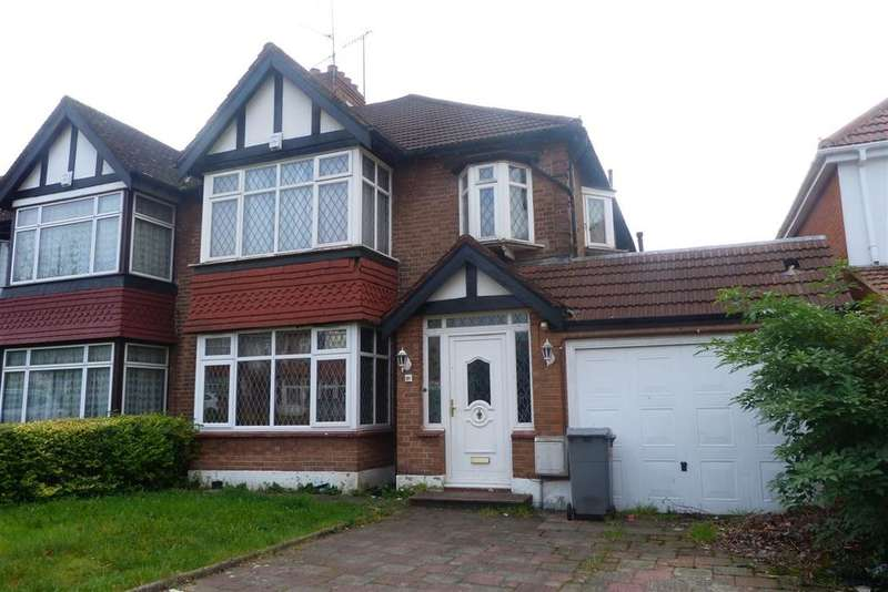 5 Bedrooms Semi Detached House for sale in Kingsway, Wembley, Middlesex