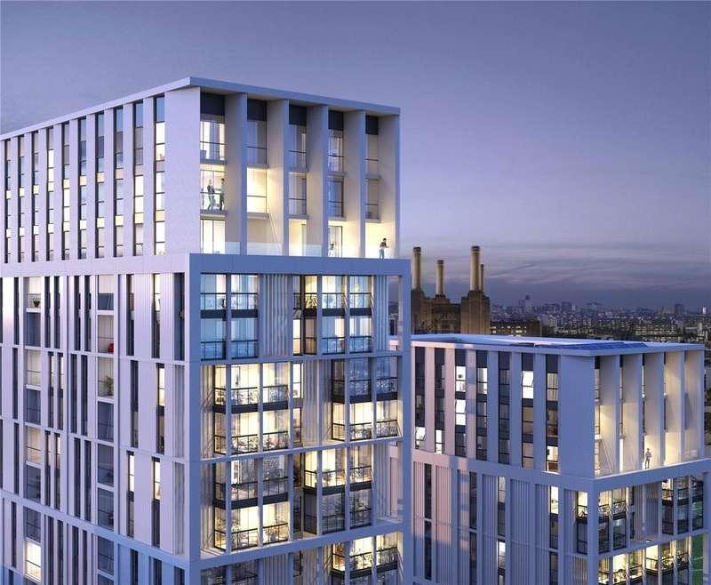 2 Bedrooms Flat for sale in Battersea Exchange, Queenstown Road