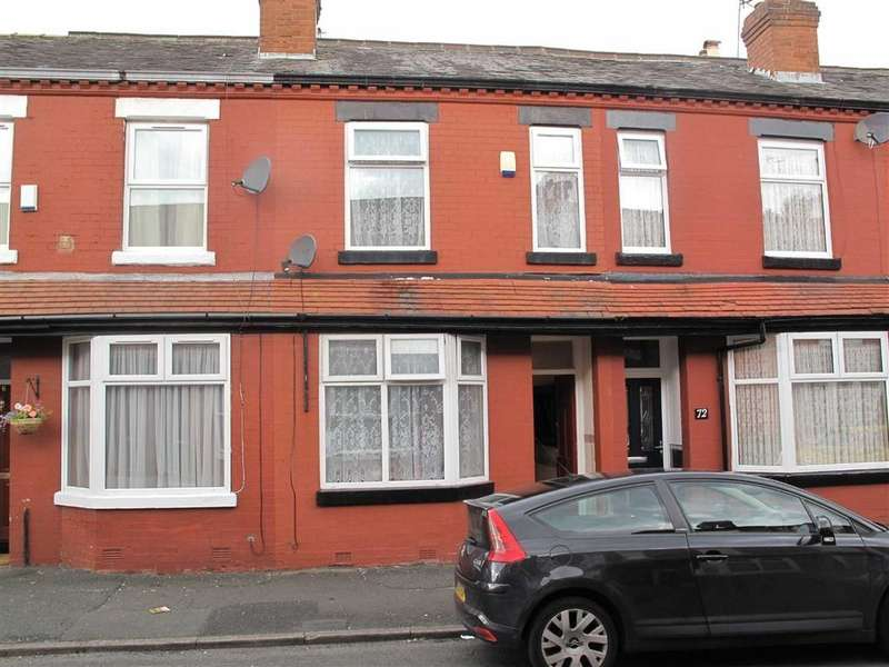 3 Bedrooms Terraced House for sale in Crondall Street, Manchester