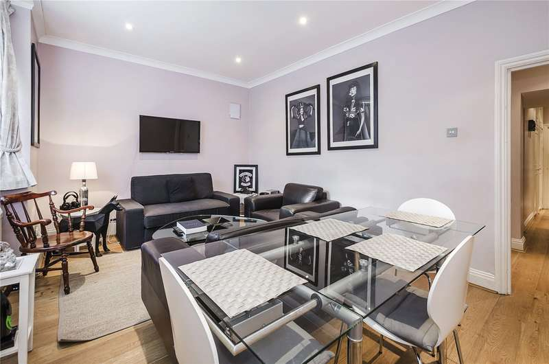 2 Bedrooms Flat for sale in Lupus Street, London, SW1V