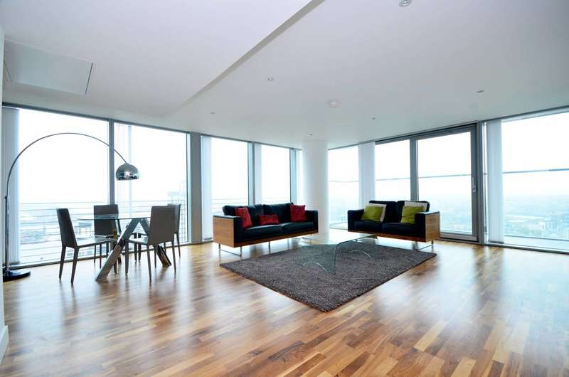3 Bedrooms Flat for rent in Landmark East Tower, Canary Wharf, E14