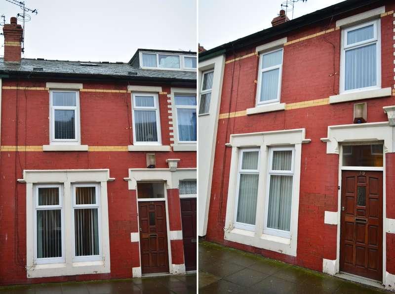 3 Bedrooms Terraced House for sale in Erdington Road, Blackpool, FY1 5EG