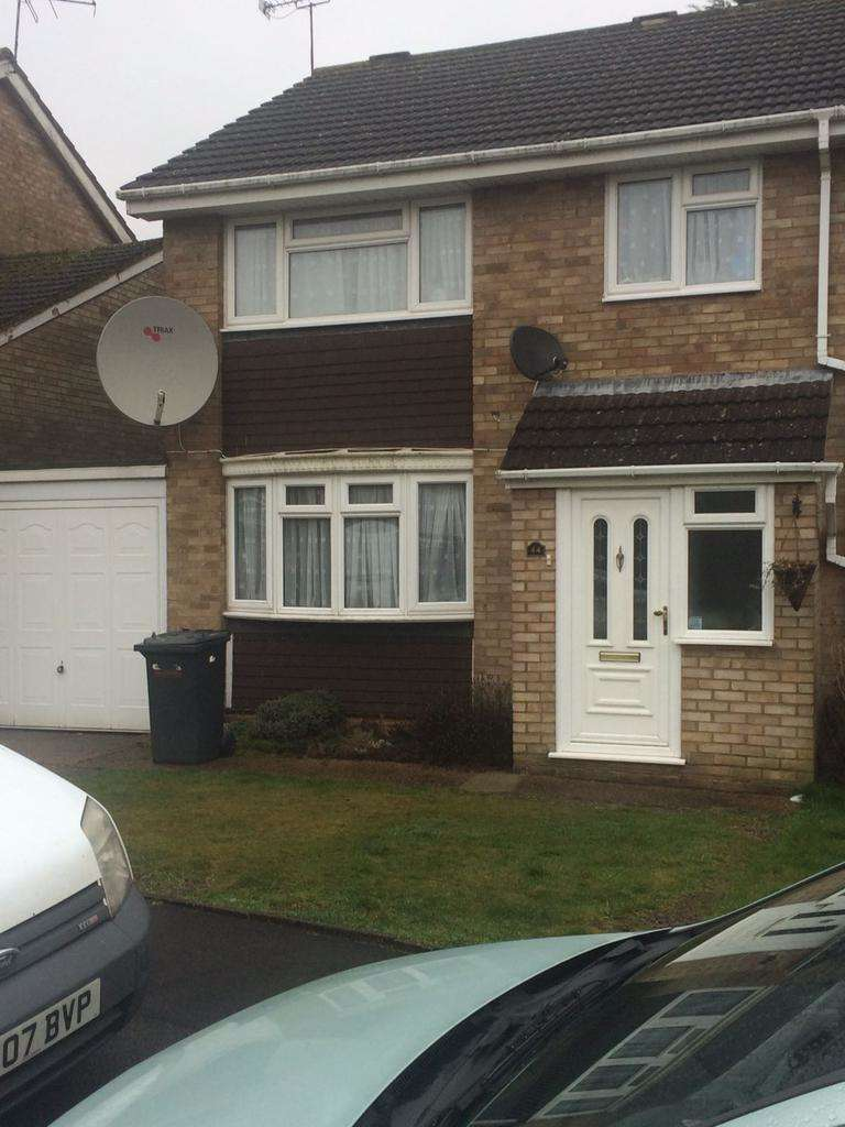 3 Bedrooms Semi Detached House for sale in Leyhill drive, Luton Lu1