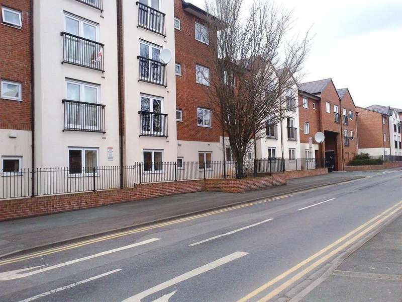 2 Bedrooms Apartment Flat for sale in Delamere Court, Crewe