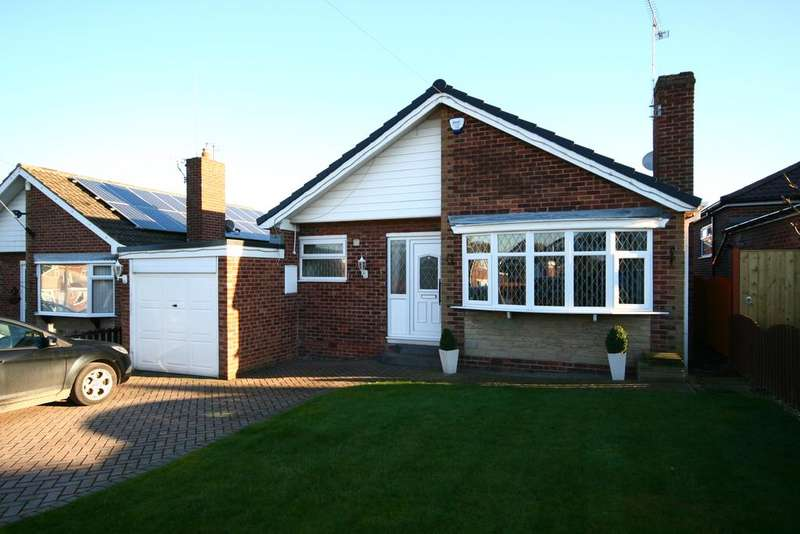 3 Bedrooms Detached Bungalow for sale in Clumber Rise, Aston, Sheffield S26