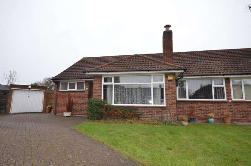 3 Bedrooms Semi Detached Bungalow for sale in Salix Close, Sunbury On Thames TW16