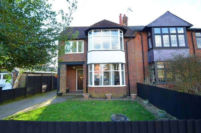 4 Bedrooms Detached House for sale in Fisher Avenue, Hillmorton, Rugby