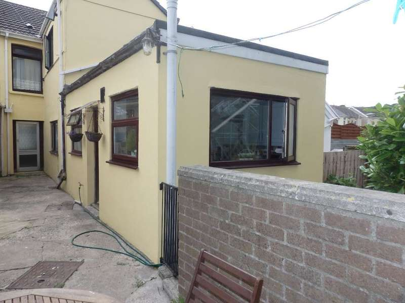 4 Bedrooms Terraced House for sale in Ynys Wen