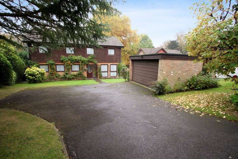 4 Bedrooms Detached House for sale in Hamble Wood, Botley SO30