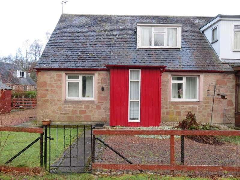 3 Bedrooms Semi Detached House for sale in Dalcroy Crescent, Tummel Bridge PH16