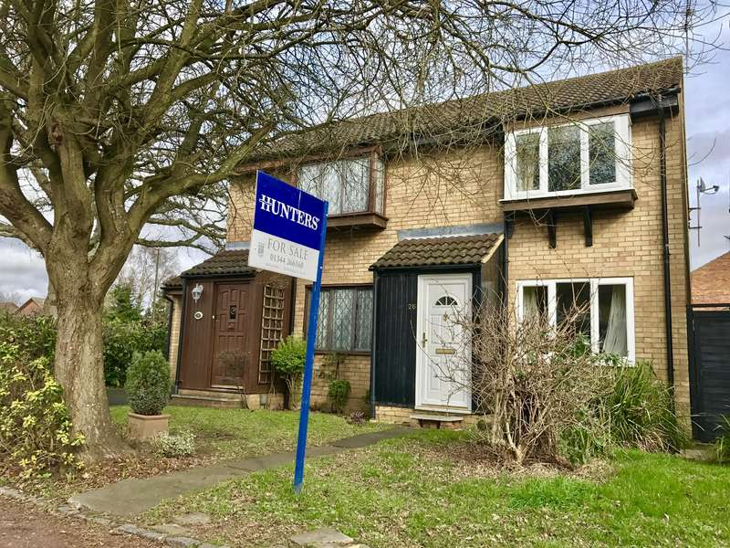 2 Bedrooms Semi Detached House for sale in Mercury Avenue, Wokingham, Berkshire, RG41 3GA
