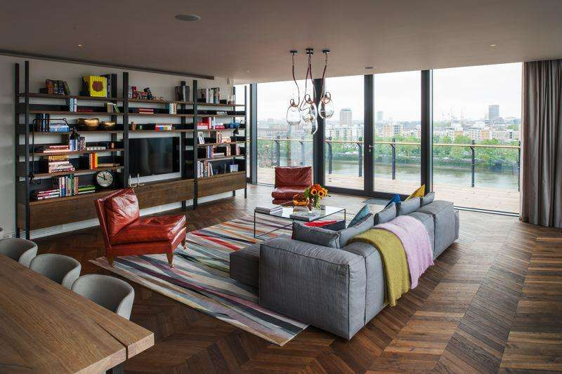 4 Bedrooms Apartment Flat for sale in Battersea Power Station, 188 Kirtling Street, Nine Elms, London SW8
