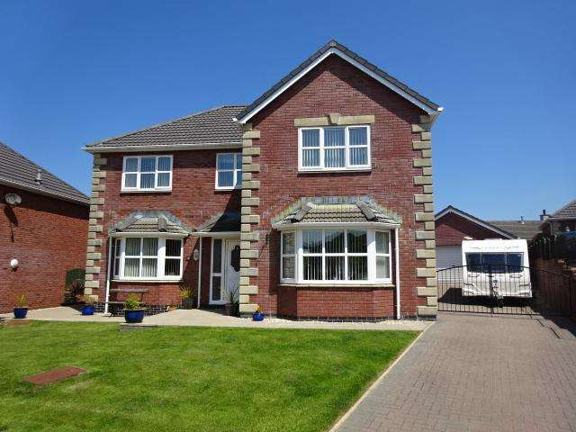 4 Bedrooms Detached House for sale in CAEAU PENRALLT, LLANFAIRPWLL LL61