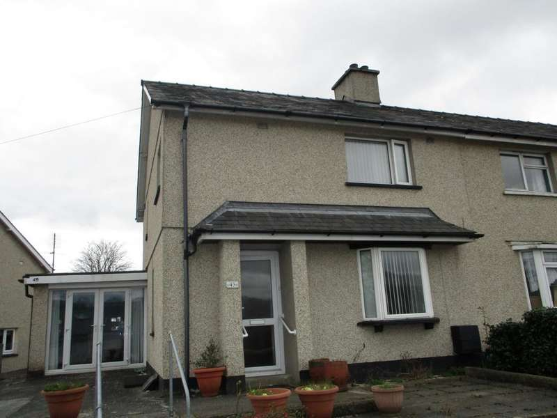 3 Bedrooms End Of Terrace House for sale in 45 Adwy Ddu, Penrhyndeudraeth LL48