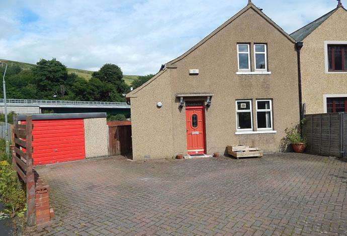 2 Bedrooms Semi Detached House for sale in 4 Wheatlands Road, Galashiels, TD1 1QP
