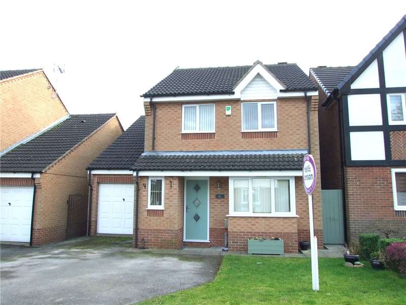 4 Bedrooms Detached House for sale in Wellington Park, Shirland, Alfreton, Derbyshire, DE55
