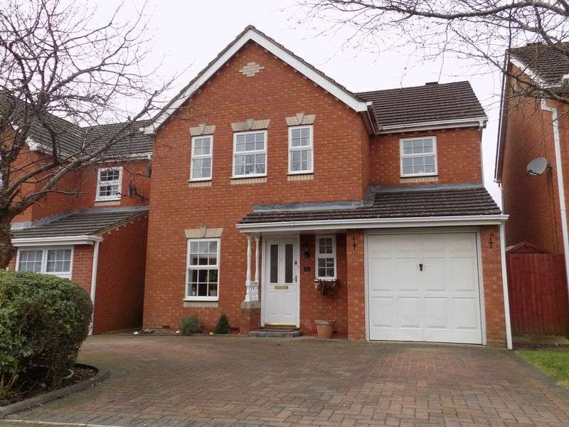 4 Bedrooms Detached House for sale in Laughton Way, Abbey Meads