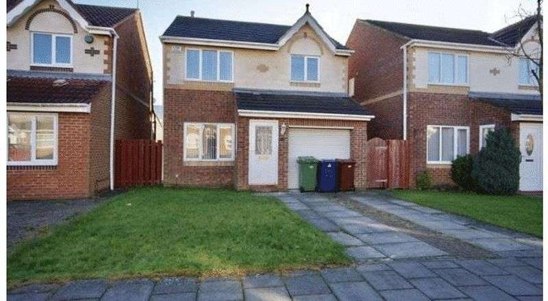 3 Bedrooms Detached House for sale in Ruskin Drive, NE7 7FL