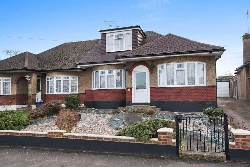 3 Bedrooms Semi Detached Bungalow for sale in Abbotts Close, Leigh-On-Sea