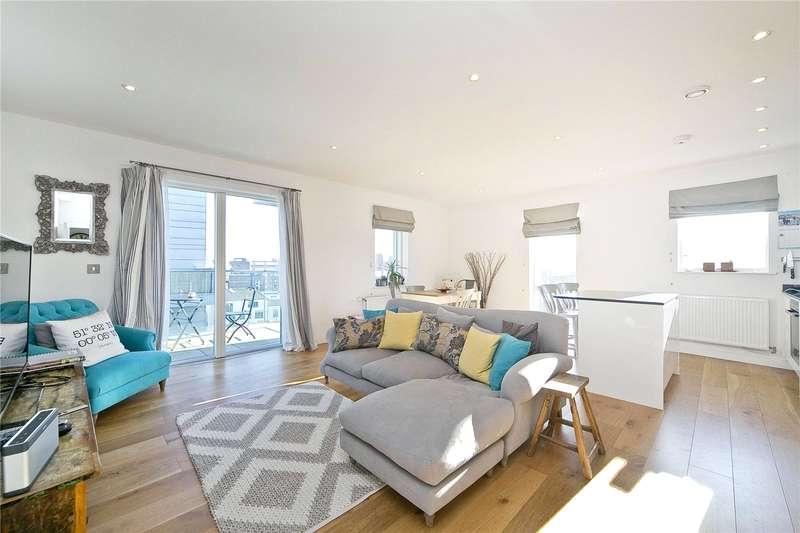2 Bedrooms Flat for sale in Branch Place, De Beauvoir, N1