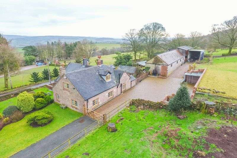 4 Bedrooms Detached House for sale in Cloudside, Congleton