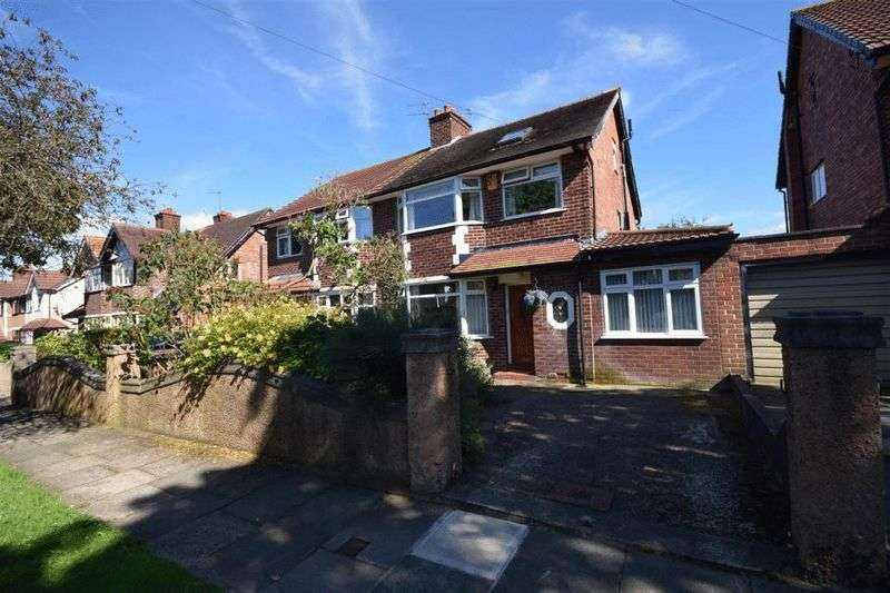 4 Bedrooms Semi Detached House for sale in Tudorville Road, Bebington