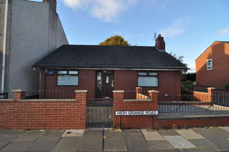 2 Bedrooms Detached Bungalow for sale in High Grange Road, Spennymoor Dl16
