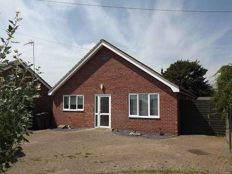 2 Bedrooms Detached Bungalow for sale in Steeles Road, Woolpit IP30