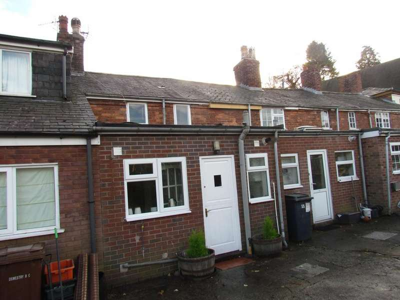 2 Bedrooms Terraced House for sale in UPPER BROOK STREET, OSWESTRY sy11