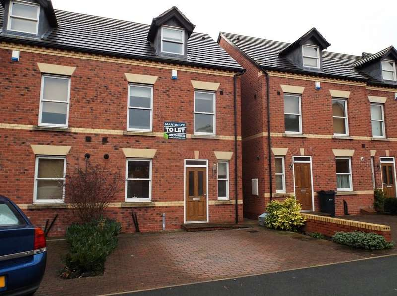 3 Bedrooms Mews House for sale in Weaver Street Winsford