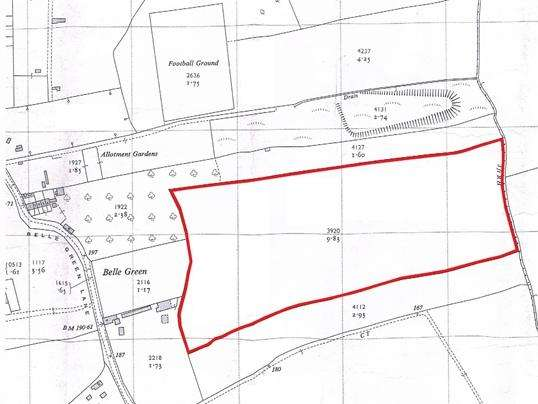 Land Commercial for sale in Land off Belle Green Lane, Cudworth, Barnsley, S72 8GF
