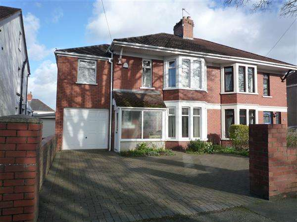 5 Bedrooms House for sale in Pantbach Road, Rhiwbina, Cardiff