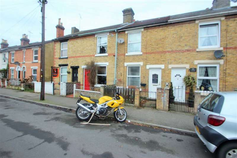 2 Bedrooms Terraced House for sale in Harsnett Road, New Town, Colchester