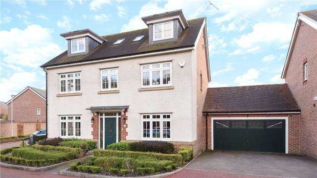 6 Bedrooms Detached House for sale in Blackcap Lane, Bracknell, Berkshire
