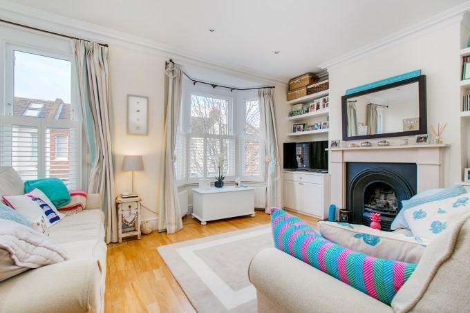 2 Bedrooms Flat for sale in Beryl Road, Hammersmith, London W6