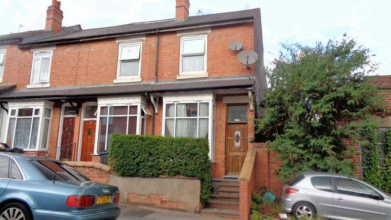 2 Bedrooms End Of Terrace House for sale in Evelyn Road, Sparkhill, Birmingham B11