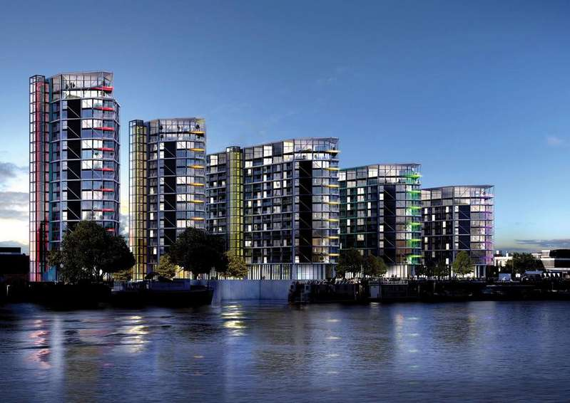 3 Bedrooms Apartment Flat for sale in Riverlight, Nine Elms Lane, London SW8