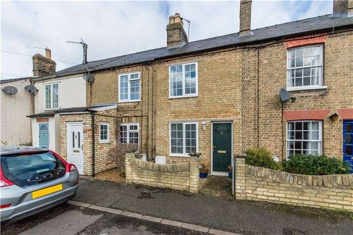2 Bedrooms Terraced House for sale in Rosemary Road, Waterbeach, Cambridge